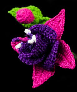 Fuchsia Flower Crochet