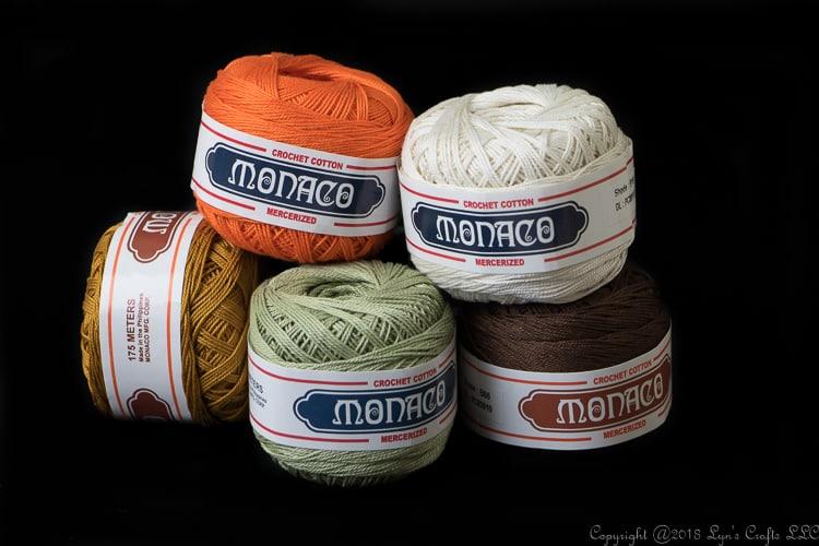 Monaco Cotton Crochet Thread Size 8