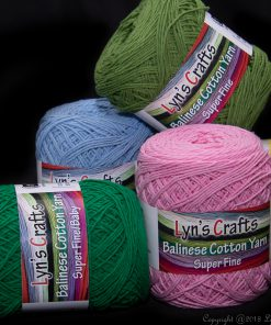 Cotton Fingering Weight Yarn