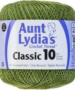 Aunt Lydia's Classic Crochet Thread Size 10-Wasabi