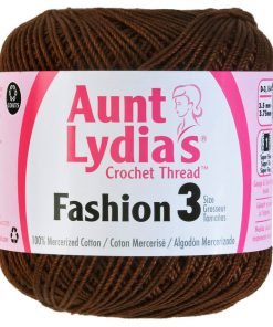 Aunt-Lydias-Crochet-Thread-Size-3-Coffee