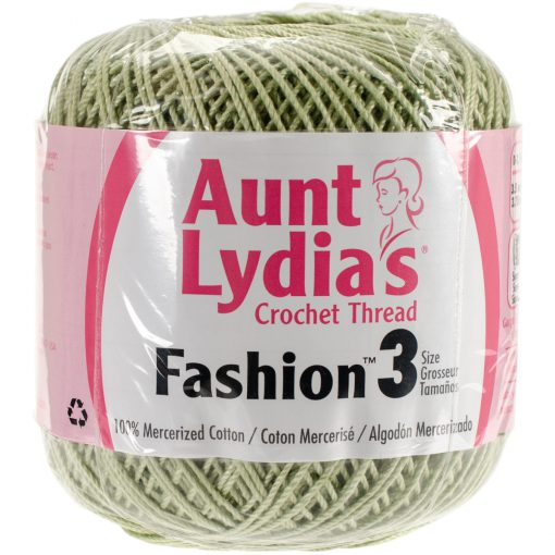 Aunt Lydia's Crochet Thread Size 3-Lime