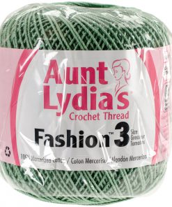 Aunt Lydia's Crochet Thread Size 3-Sage