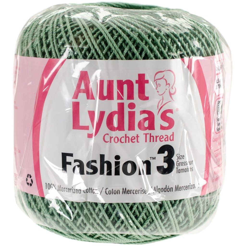 Aunt Lydias Crochet Thread Size 3 Sage Lyns Crafts Yarns
