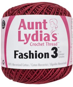 Aunt-Lydias-Crochet-Thread-Size-3-Scarlet