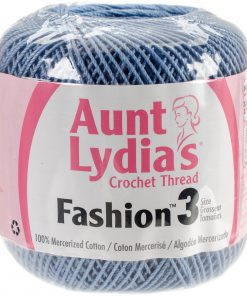 Aunt Lydia's Crochet Thread Size 3-Warm Blue