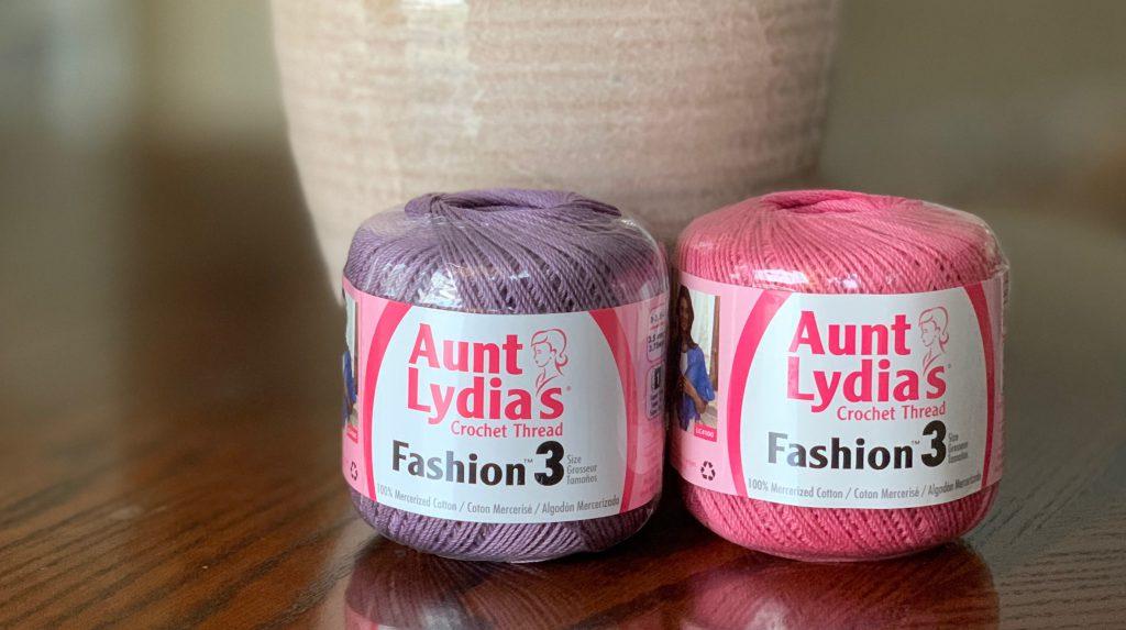 Aunt Lydia's Crochet Thread Size 3 | Lyn's Crafts Yarns