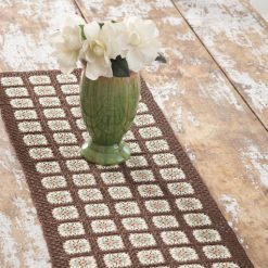 Autumn Tones Table Runner Free Crochet Pattern