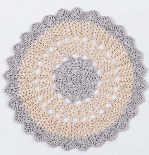 Scalloped Round Doily Free Crochet Pattern