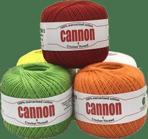Cannon Crochet Thread