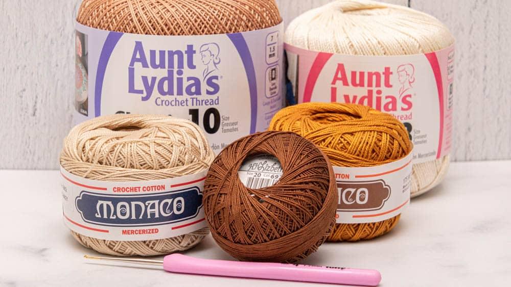 Best Brands of Crochet Thread