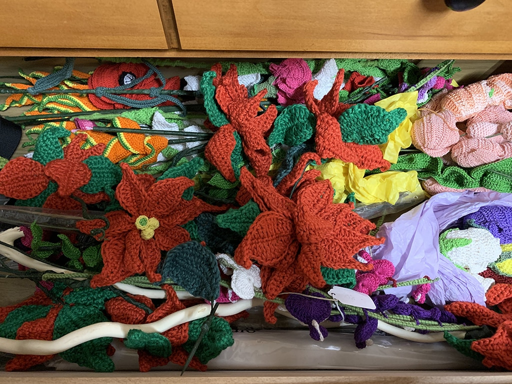 Crochet Projects Storage Drawer