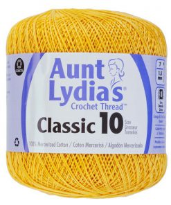 Aunt-Lydias-Classic-Crochet-Thread-Size-10-Golden-Yellow