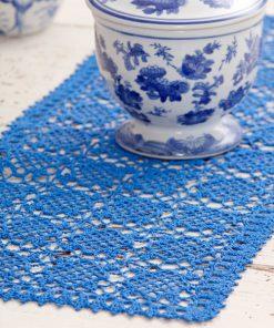 Sweet Clover Table Runner Free Crochet Pattern