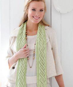 Twisty Lace Scarf Free Crochet Pattern