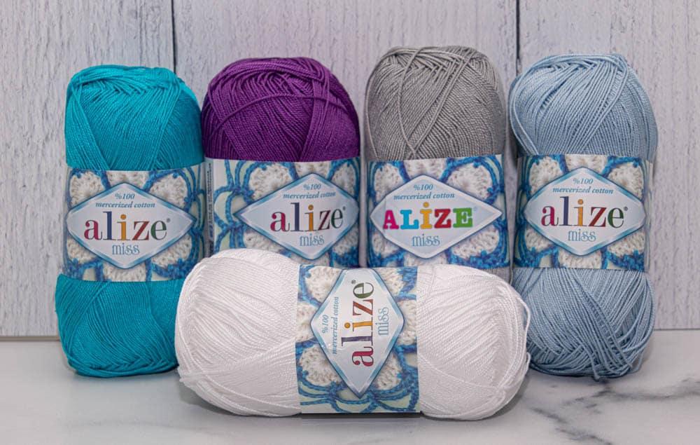 Alize Miss Crochet Thread