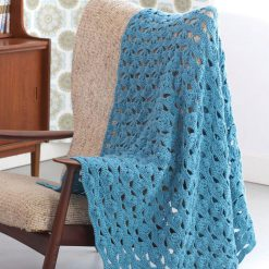 Patons Light And Airy Afghan Free Crochet Pattern