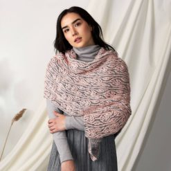 Patons Allan Gardens Knit Brioche Shawl Free Pattern