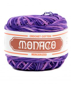 Purple Ombre Cotton Crochet Thread