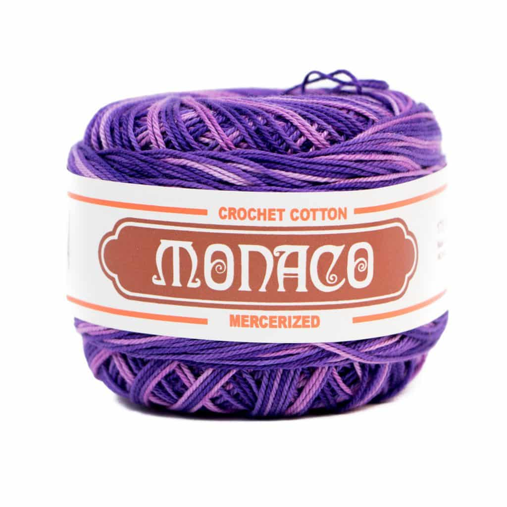 Purple Ombre Cotton Crochet Thread | Lyn's Crafts Yarns