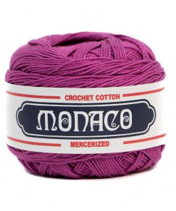 Magenta Cotton Crochet Thread