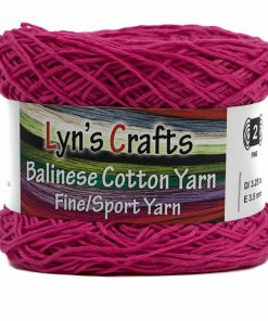 Hot Pink Sport Weight Yarn