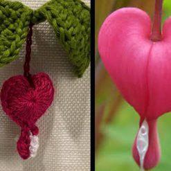 Bleeding Heart Crochet Pattern