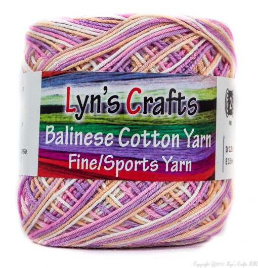 Cotton Candy Sport Weight Yarn