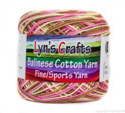 Variegated Cotton Sports Yarn